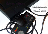 Adapt Turbografx Controller to PC Engine, Duo, Core & Supergrafx consoles + 4' Cable Extension - RetroFixes - 3