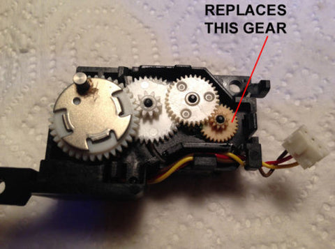 Gear for Macintosh Vintage Floppy Drives Fixes Broken Eject 512k 1mb, - RetroFixes - 2