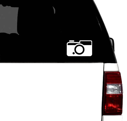 35mm Film Camera Retro Photography Vinyl Graphic Decal