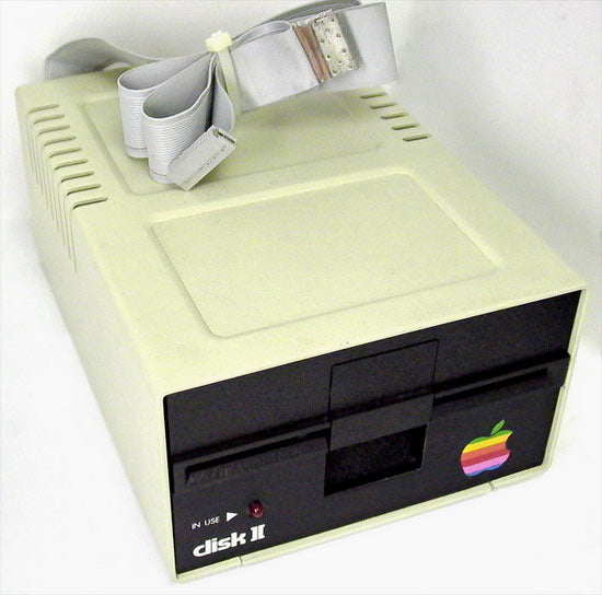 Apple II Disk ][ Working Disk Drive