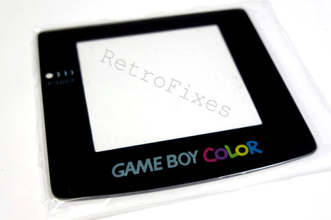 Gameboy Color Replacement Screen Glass or Plastic - RetroFixes - 1