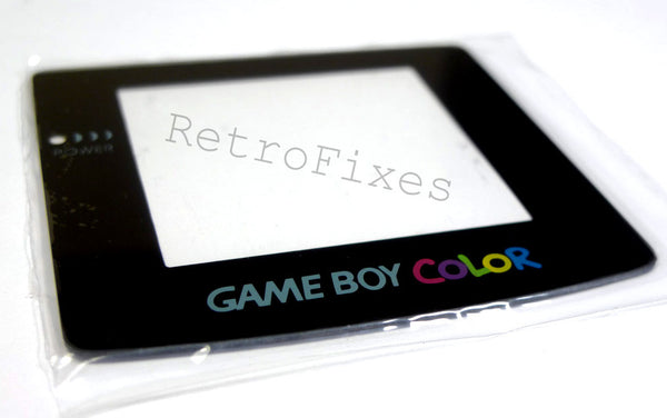 Gameboy Color Replacement Screen Glass or Plastic - RetroFixes - 2