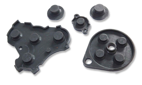 New GameCube Controller Replacement Silicone Button Set