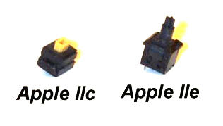 Apple IIe or IIc Replacement Keyboard Switches