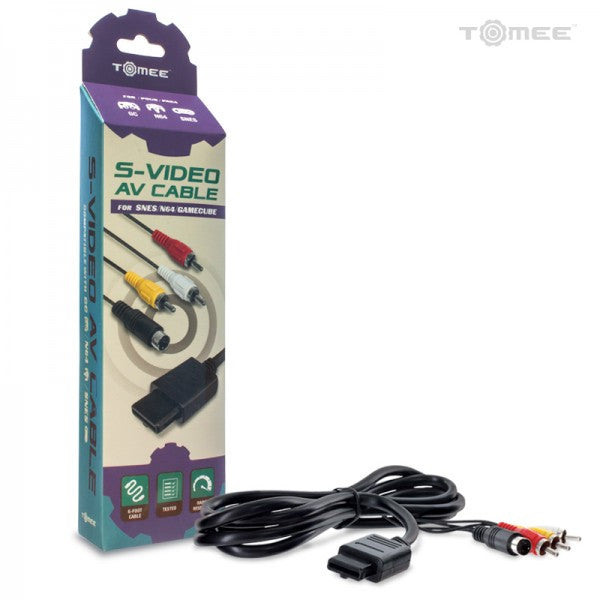 GameCube/ N64/ SNES S-Video AV Cable.