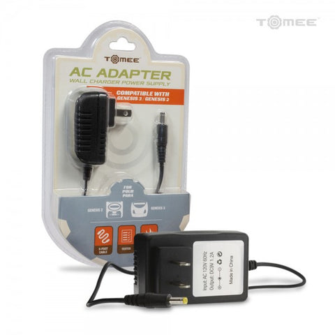 AC Adapter For Sega Genesis 2 or 3 Consoles