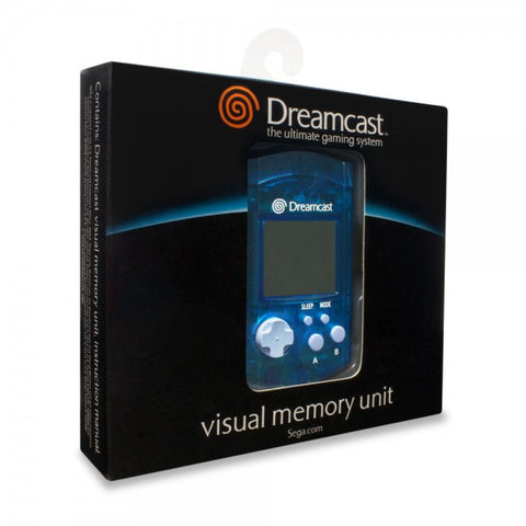New Dreamcast Visual Memory Unit VMU (Blue or Green) - Sega - RetroFixes - 1