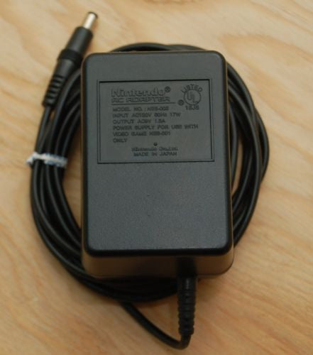 Original NES Console Power Adapter