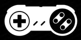 SNES Controller Retro Vinyl Graphic Decal