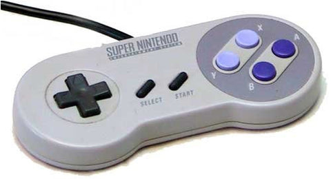 SNES OEM Original Controller Tested & Working Super Nintendo - RetroFixes - 1