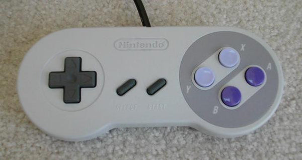 SNES OEM Original Controller Tested & Working Super Nintendo - RetroFixes - 3