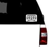 Classic Cassette Tape Car Vinyl Decal