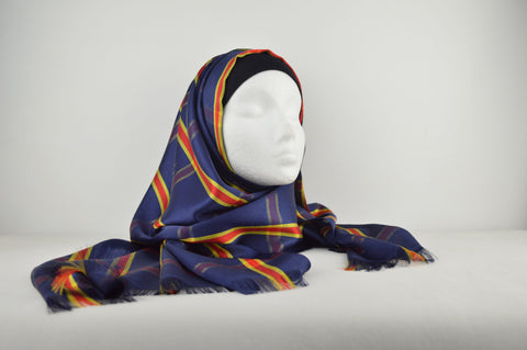 Silk Checked Hijab