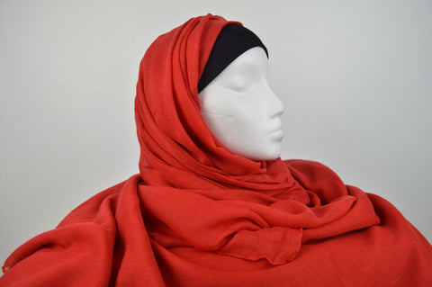 Plain Long Soft Feel Hijab