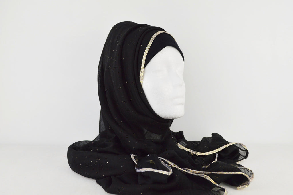 Fashion Hijabs Online Black