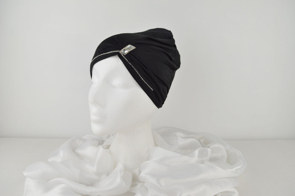 Fashion Hijabs Online Bonnet Black