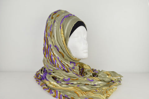 Printed Crush Hijab