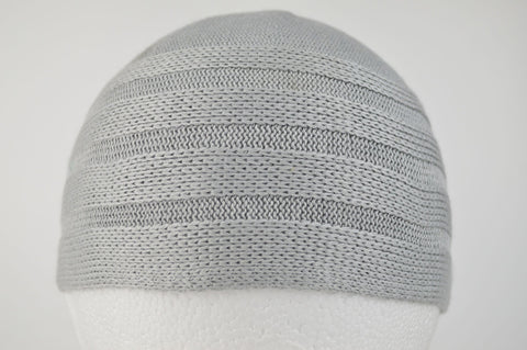 Wool Effect Mens Hat in Grey