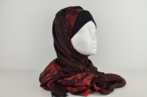 Printed Reversible Hijab