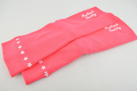 Stretch Sports Sleeves and Arm Covers in Pink