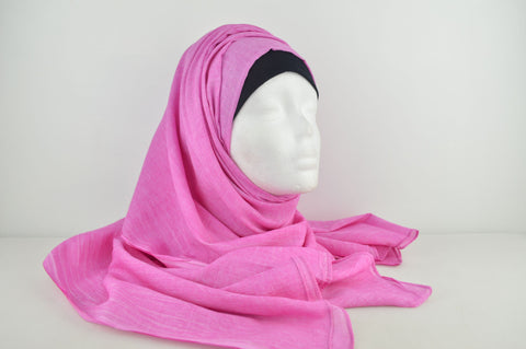 Indian Pure Cotton Marble Effect Hijab