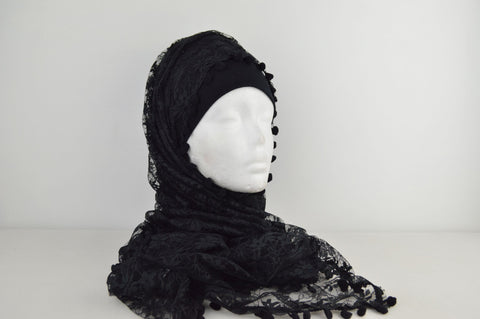 Netted Hijab