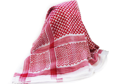 Yashmagh Mens Scarf in Red