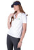 Ladies White Irish Shirts - Polo by Ireland Shirt-1