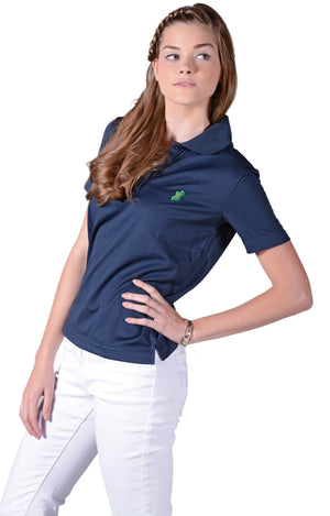 Ladies Navy Blue Irish Shirts - Polo by Ireland Shirt2