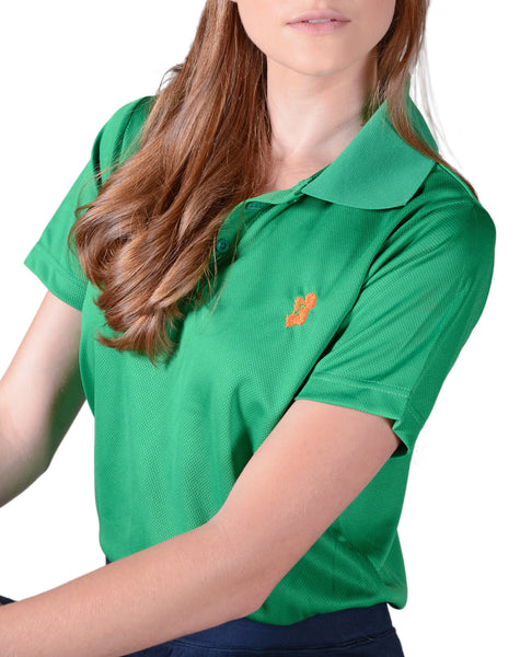 Ladies Kelly Green Irish Shirt - Polo by Ireland Shirt