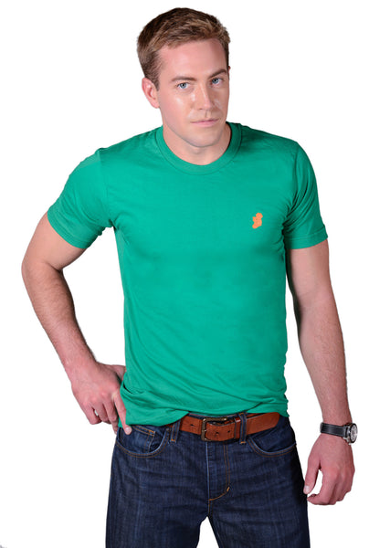 Men's Kelly Green Slim Fit Irish T Shirt by Ireland Shirt-1