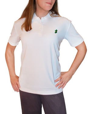 Ladies White Irish Shirts - Polo by Ireland Shirt-2