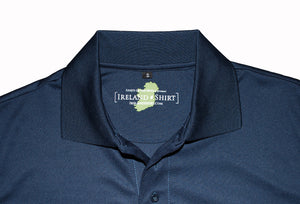 Ladies Navy Blue Irish Shirts - Polo by Ireland Shirt3