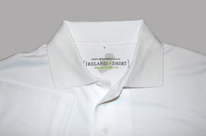 Ladies White Irish Shirts - Polo by Ireland Shirt-4