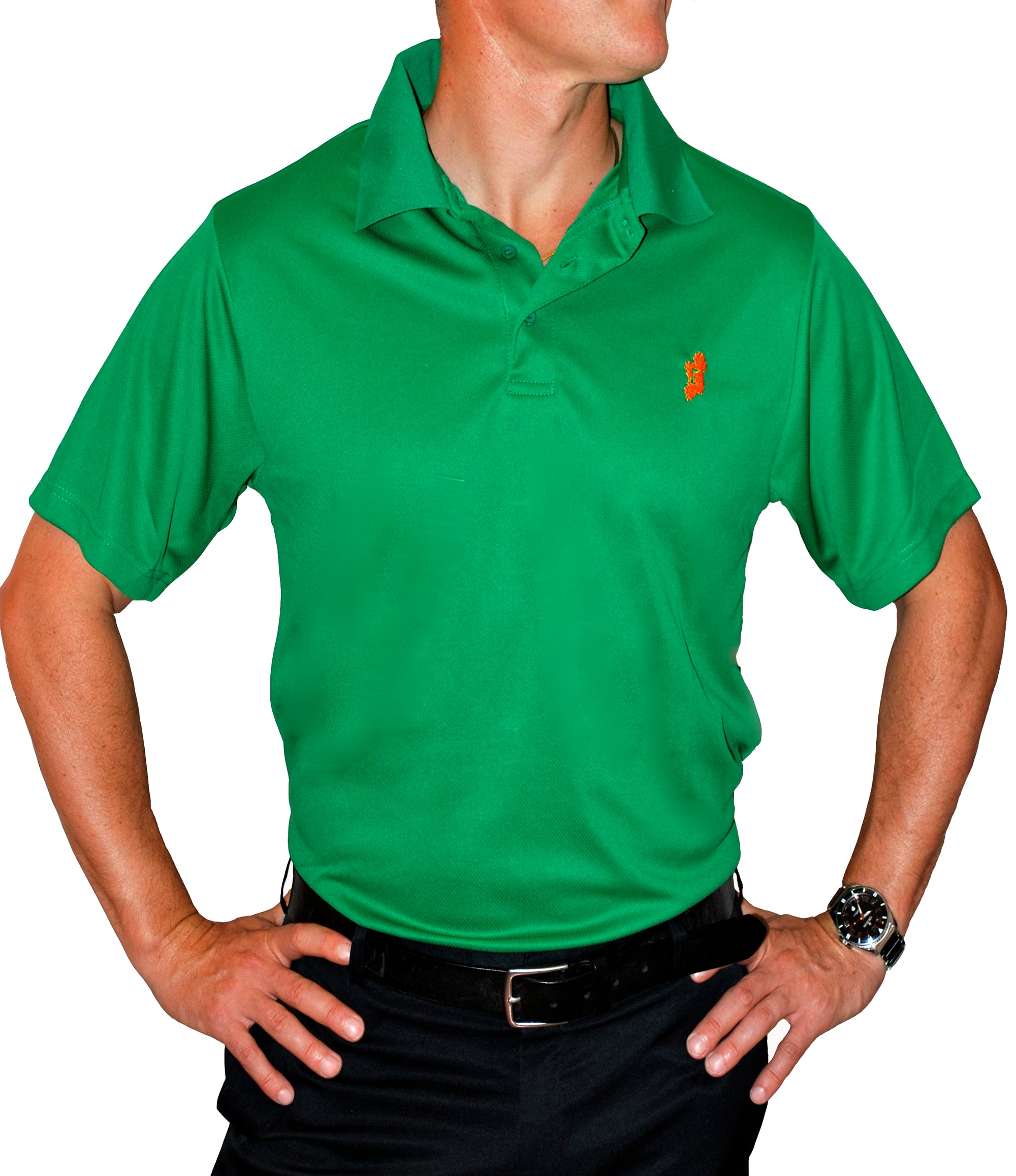 Men's Kelly Green Irish Shirt - Polo