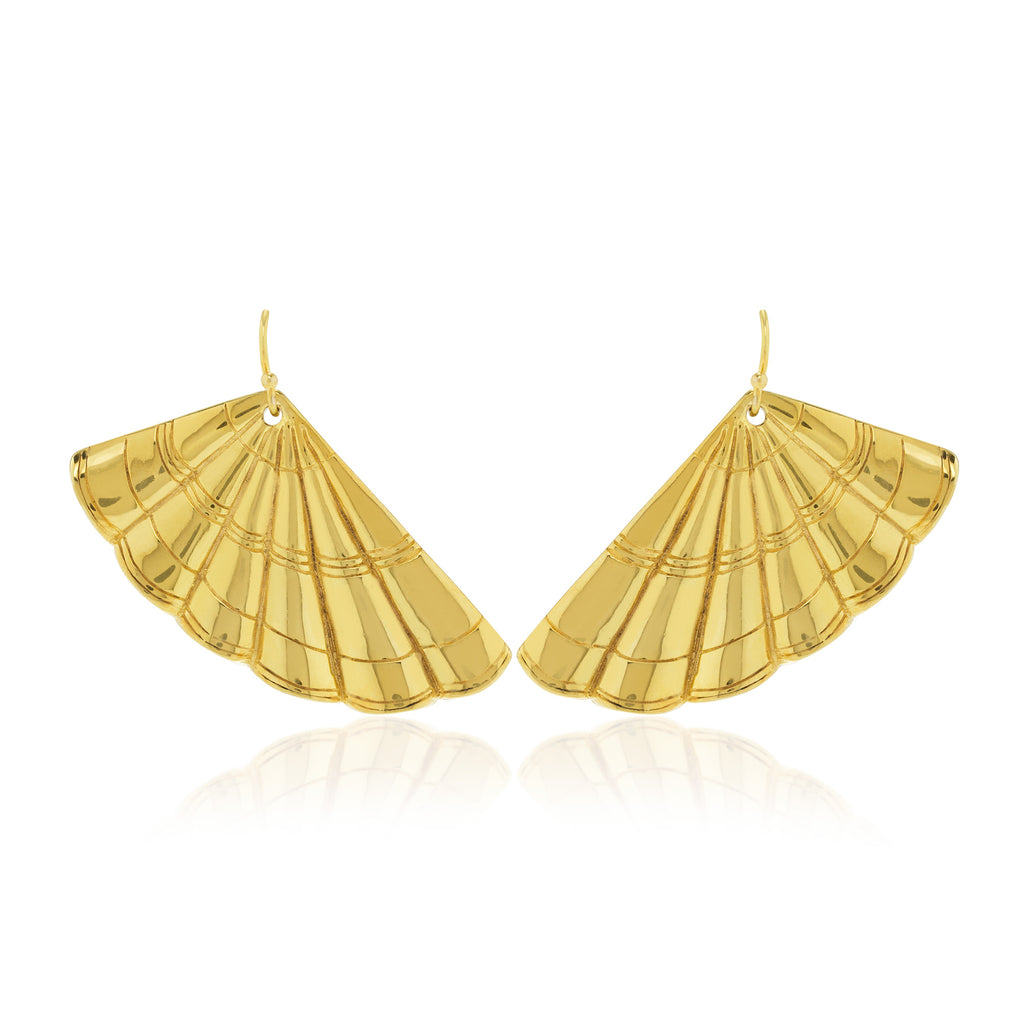 Earrings Wavy Gatsby - Sophie Simone Designs
