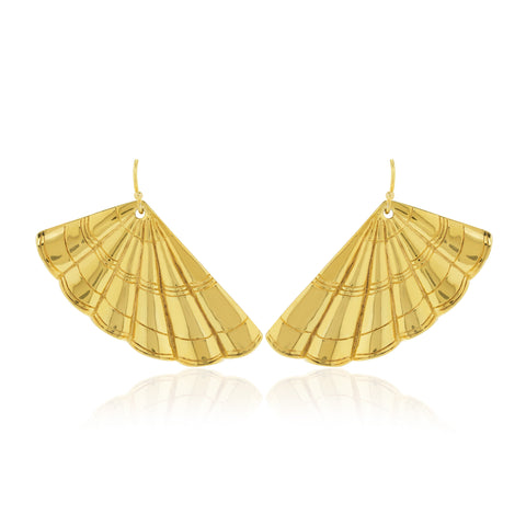 Earrings Wavy Gatsby