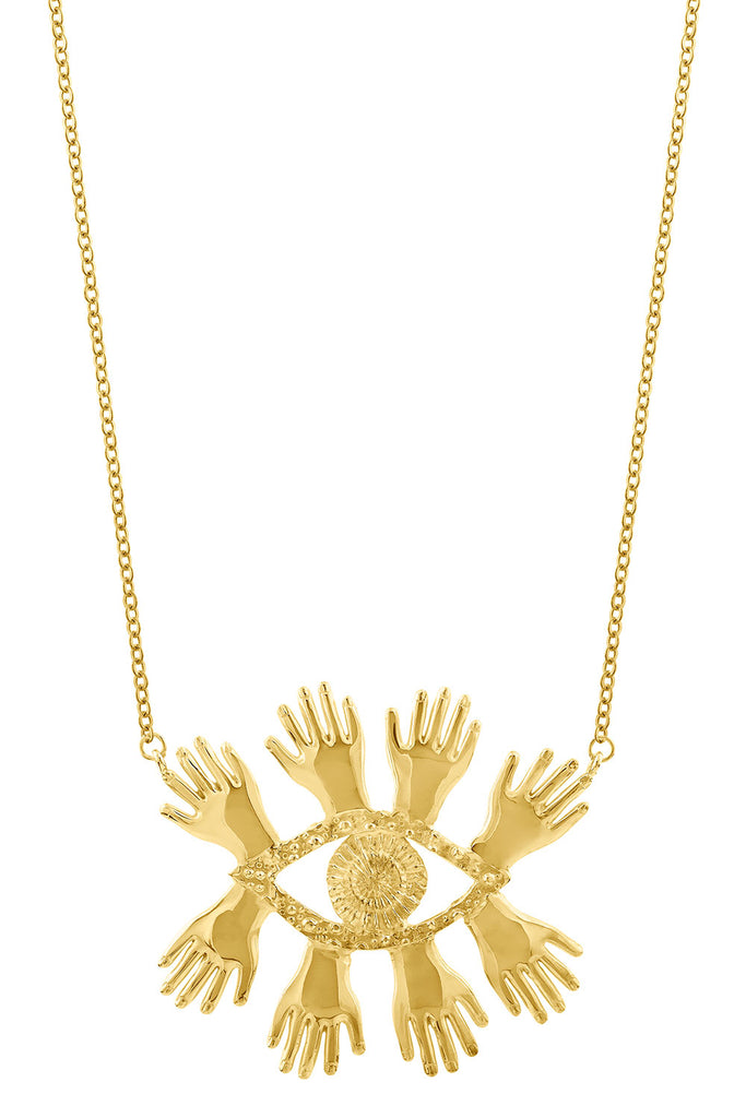 Necklace Abre los Ojos - Sophie Simone Designs