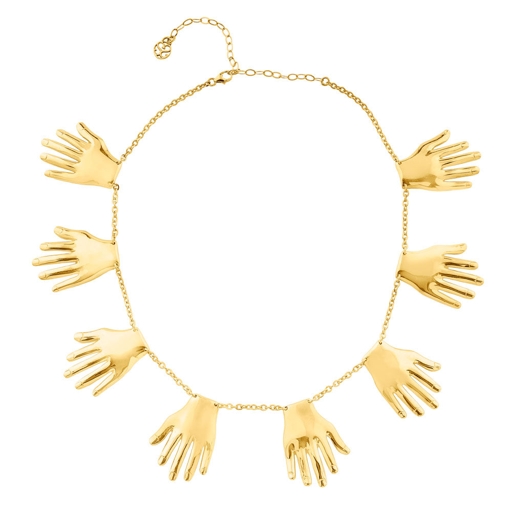 Necklace Muchas Manos - Sophie Simone Designs