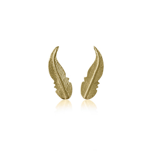 Earrings Pluma