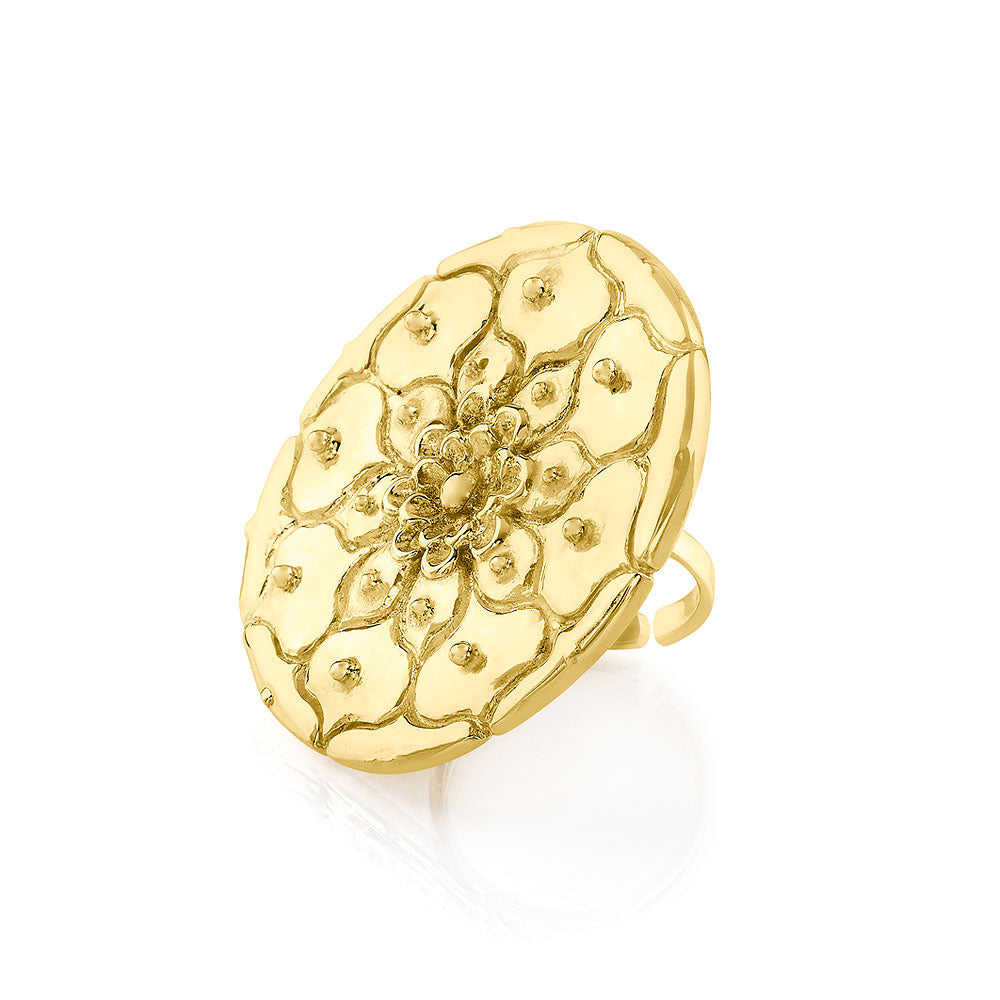 Ring Plano Large Nierika - Sophie Simone Designs