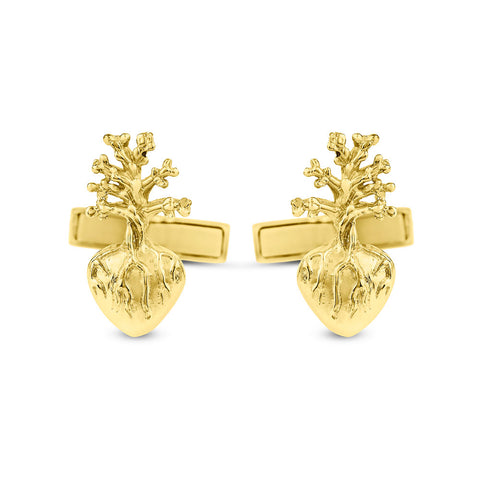 Cufflinks Heart Frida