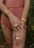 Ibiza Double Ring - Sophie Simone Designs