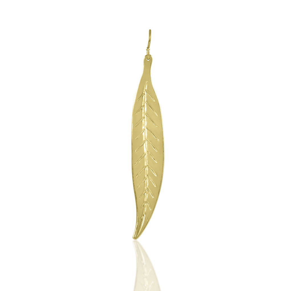 Earring Leaf - Sophie Simone Designs