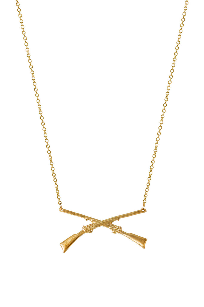 Gold Dipped Winchester Necklace
