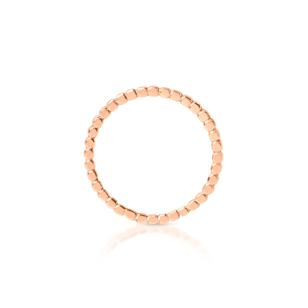 "18K Rose Gold ""IT"" Ring"