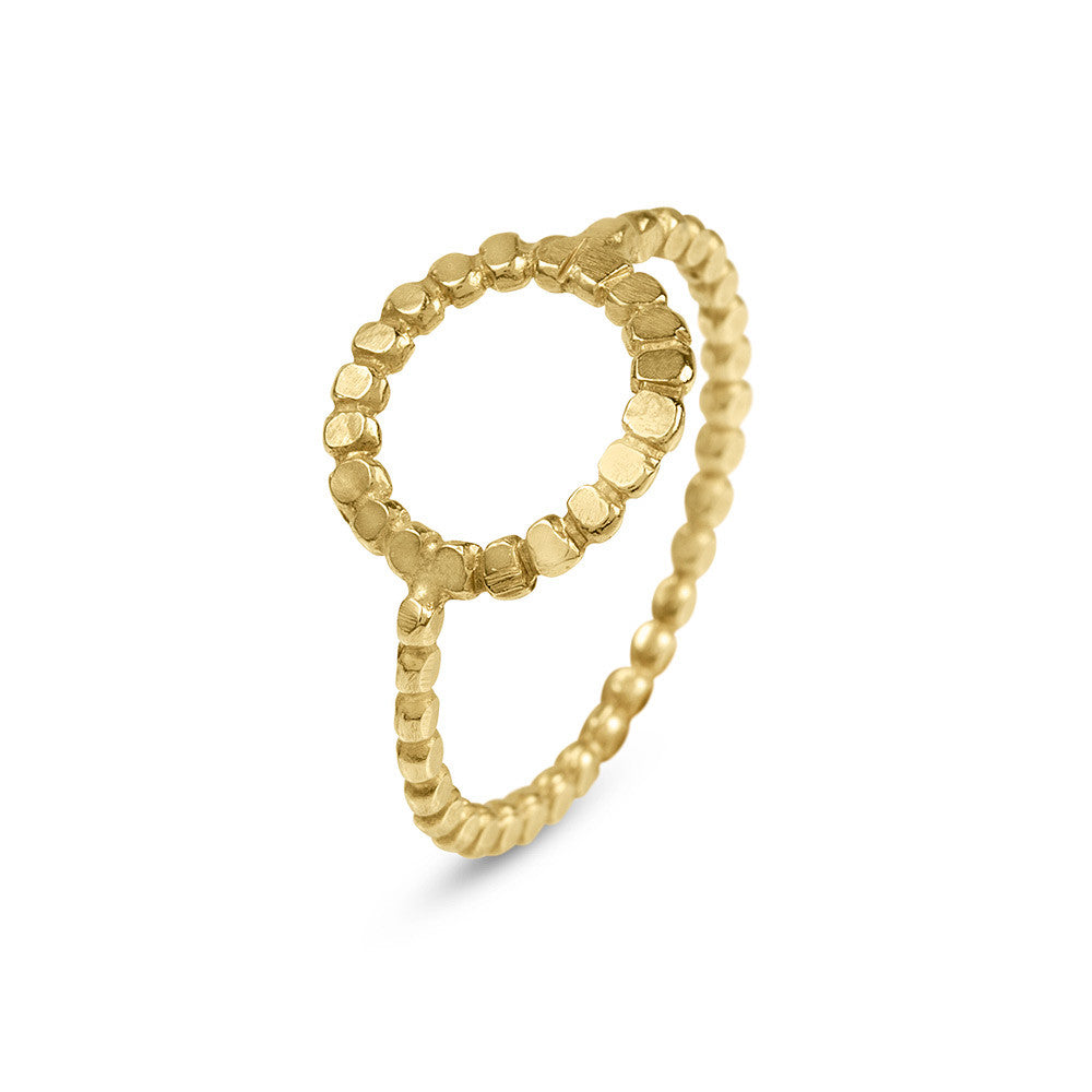 Ring Circle Gold - Sophie Simone Designs