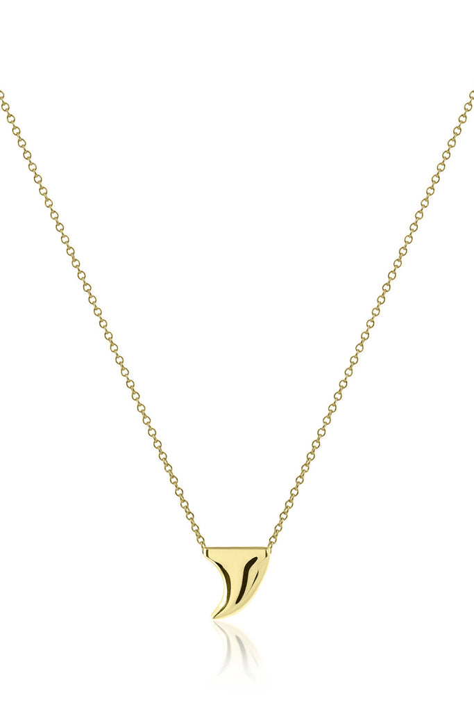 Small Gold Dipped Thorn Necklace