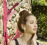 Earrings Doble Pitaya - Sophie Simone Designs
