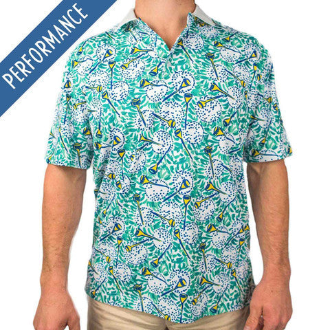 Chubbies Golf Polo - The Drawshank Redemption